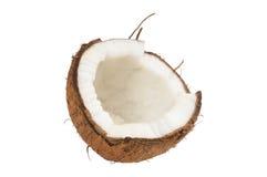 kokosowe świeże skorupy Zdjęcie Royalty Free