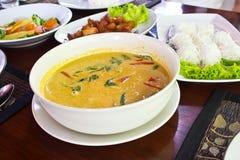 Kokosowego mleka curry Obrazy Stock