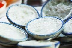 Kokosowego mleka custard Zdjęcie Stock