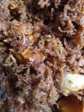 Kokosowego torta plombowanie Zdjęcia Stock