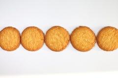 Kokosowi ciastka Zdjęcia Royalty Free