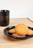 Kokosowi ciastka Fotografia Stock