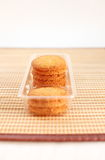 Kokosowi ciastka Zdjęcia Stock