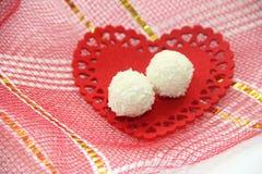 Kokosowi cukierki Zdjęcia Stock