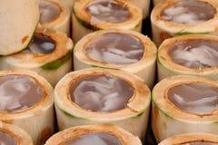 Kokosowy agar wyśmienicie, azjatykci deser Obrazy Royalty Free