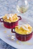 Kokosowy Chlebowy pudding zdjęcia royalty free