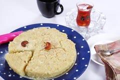 Kokosowy deser, Wattalapam, Kokosowy creme brulee obrazy stock
