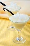 kokosowy deserowy pudding Fotografia Stock