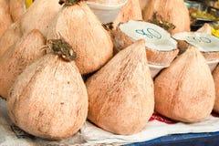 Kokosowy mięso, gęsty ja wyśmienicie obraz stock
