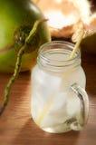 kokosowy napój Zdjęcie Stock