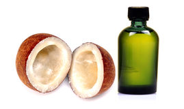 kokosowy olej Zdjęcie Stock
