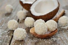 Kokosowy praline fotografia stock