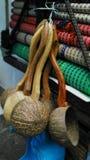 Kokosowy skorupy laddle Obraz Royalty Free