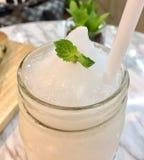 Kokosowy smoothie Obrazy Royalty Free