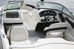 kokpit łódź motorowa zdjęcia royalty free