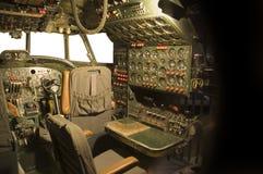 kokpit samolotu Zdjęcia Stock