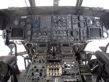 kokpitu helikopter Obraz Royalty Free