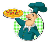 Kokpizza Stock Afbeelding