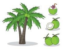 Koks na drzewie z białym tłem odosobniony doodle ręki rysunek ilustracja wektor