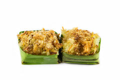 Koks na kleistych ryż wyśmienicie jedzeniu Fotografia Stock