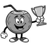 Koks woda z trofeum ilustracją Obraz Stock