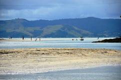 Koksstrand, Nieuw Zeeland royalty-vrije stock afbeelding