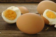 kokt ägg Arkivbild