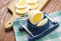 kokt ägg Royaltyfri Fotografi