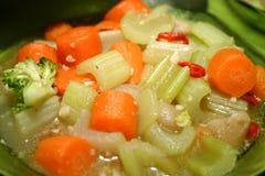 kokt blandade grönsaker royaltyfria foton