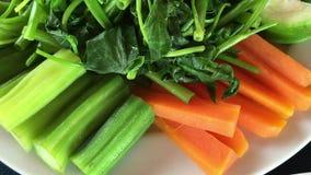 kokt grönsaker lager videofilmer