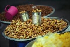 kokt jordnötter Royaltyfri Fotografi