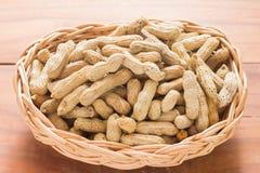 kokt jordnötter Royaltyfri Bild