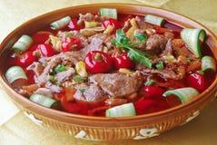 kokt meat Royaltyfria Bilder
