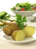 kokt potatisar Arkivbild