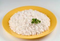 kokt rice Arkivbild
