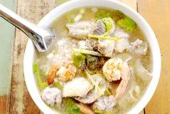 kokt rice Fotografering för Bildbyråer