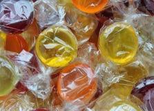 Kokta sötsaker för hård godis Royaltyfria Foton