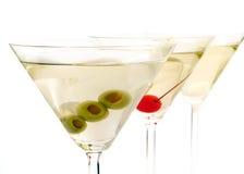 Koktajl kolekcja - Martinies zdjęcia stock