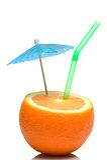 koktajl sok pomarańczowy Obrazy Royalty Free