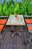 Koktajl w ogródzie Fotografia Stock