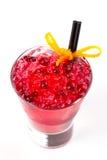 Koktajl z cranberries zdjęcie stock