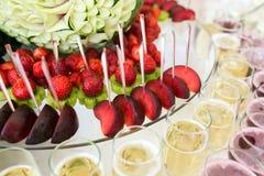 Koktajl z owoc zdjęcia stock