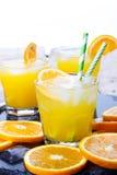 Koktajl z pomarańcze obraz royalty free