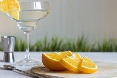 Koktajl z pomarańcze na białym tle Obraz Stock