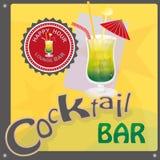 Koktajlu bar Zdjęcie Stock