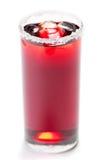 koktajlu biel lodowy czerwony Zdjęcia Stock