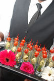 koktajlu jedzenia przyjęcie Obrazy Royalty Free