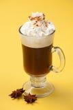 koktajlu kawowe sambuca grzałki Zdjęcie Stock
