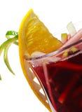 koktajlu Martini ciepła zima Obrazy Royalty Free