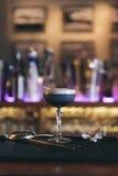 Koktajlu napój na noc klubie Zdjęcia Royalty Free